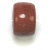 Glass Crowbead 9mm Opaque Light Brown